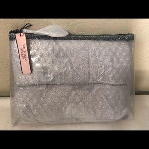 Victoria's Secret PINK Makeup Bag Glitter …
